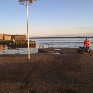Tay Estuary, Broughty Ferry Pier, Dundee.